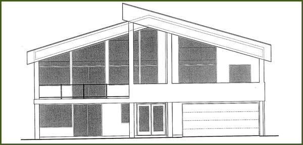 Drawing of home for remodel
